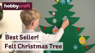 Felt Christmas Tree   Hobbycraft