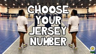 How To Choose Your Jersey Number