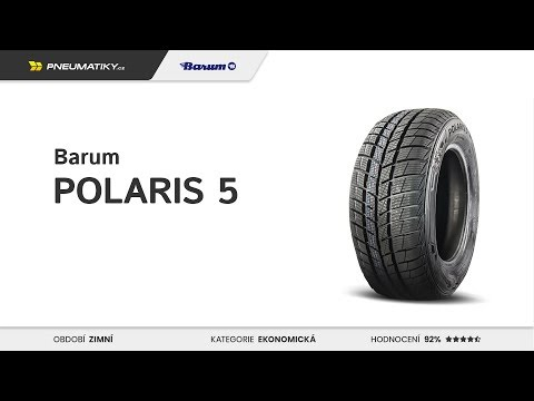 Youtube Barum Polaris 5 195/65 R15 91 T Zimní