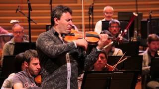 Brahms - Concerto pour violon - Maxim Vengerov (répétition)