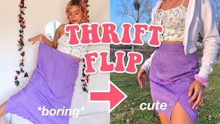 THRIFT FLIP | Diy Cute Clothes !!