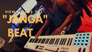 Making B3nchmarq Ft Flame - 'Janga' Beat