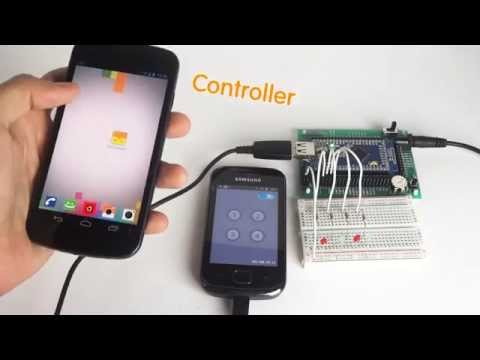 Video of Droid2Droid Controller