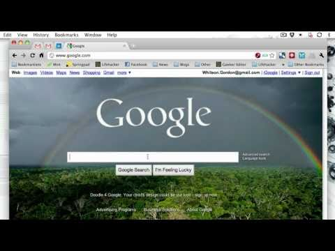 Hit Escape To Clear Google Instant's Search Box
