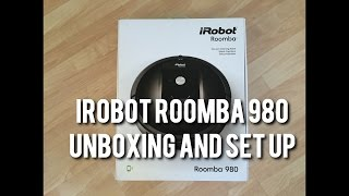 The New iRobot ROOMBA 980 - Unboxing and Setup