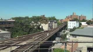 preview picture of video 'WOW,Brownsville and World Trade Center Site From L Train'