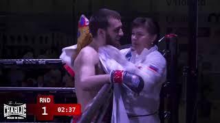 2018 European MMA Championships finals Evgeny Sibirski Manko vs Kasum Kasumov