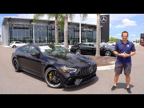External Review Video JAlEUnzbXv0 for Mercedes-AMG GT 4-Door Coupe Sedan (X290)