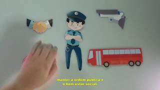Vídeo Institucional Com Animação De Recorte - Guarda Municipal De São José Dos Pinhais - TCI - UFPR
