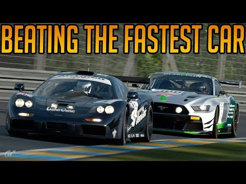Gran Turismo Sport: Trying to Beat the Fastest Car