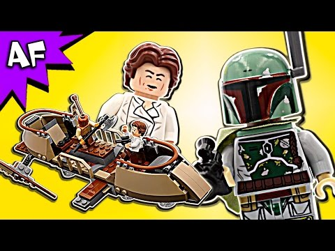 Vidéo LEGO Star Wars 75174 : Evasion de Desert Skiff