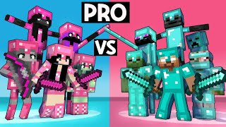 PRO GIRLS VS PRO BOYS - MONSTER SCHOOL GOT TALENT - FUNNY MINECRAFT ANIMATION