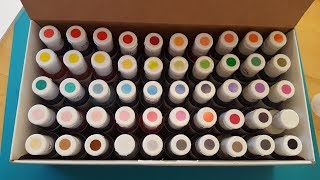 Mixing 50 Colors Of Food Coloring Together To Dye Yarn! (AmeriColor Nifty Fifty Kit)