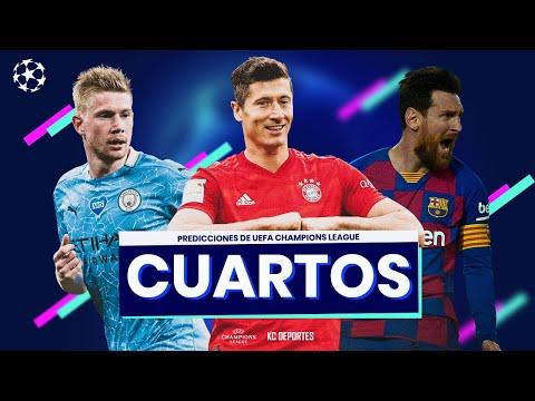Predicciones UEFA CHAMPIONS LEAGUE – Cuartos de Final 2020
