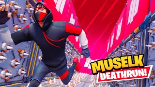 My Subscribers made an IMPOSSIBLE Muselk Deathrun…