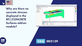 FAQ 003139 | Why are there no concrete stresses displayed in the RF‑CONCRETE Surfaces add-on module?