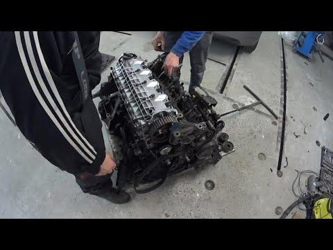 Фото к видео: Як ми збирали Двигун G8T з авто renault laguna 1