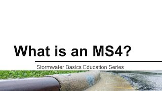 What is an MS4?