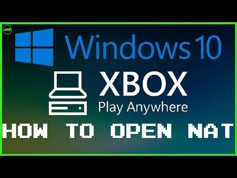 #Windows10 #Xbox How To Open NAT On Windows 10, Xbox App & Xbox Play Anywhere