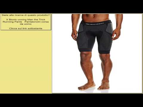 X Bionic unning Man the Trick Running Pants   Pantaloncini corsa da uomo