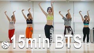 15 Minute BTS Diet Dance Workout. Cardio. Choreo By Sunny. SunnyFunnyFitness. 홈트. 댄스다이어트.