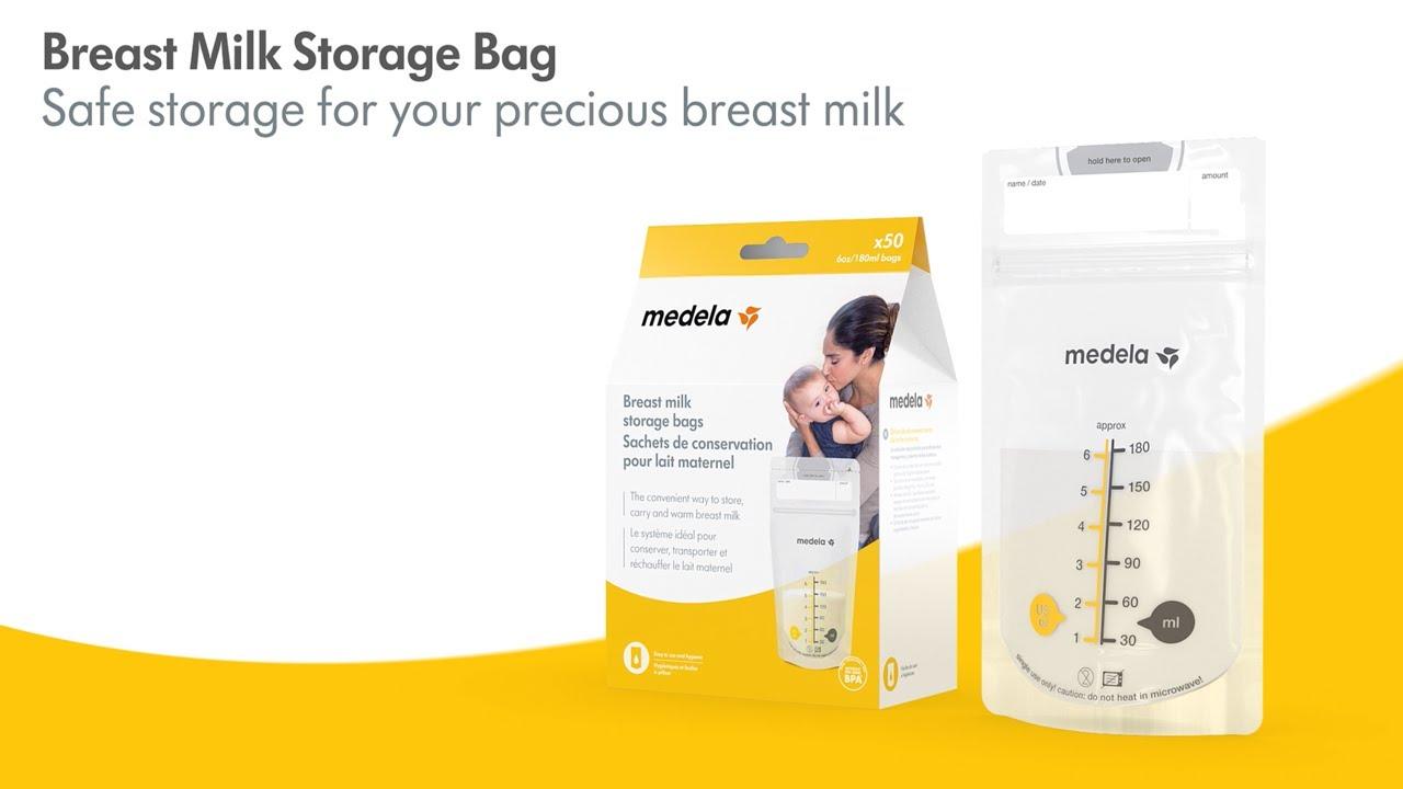 T Milk Storage Bags