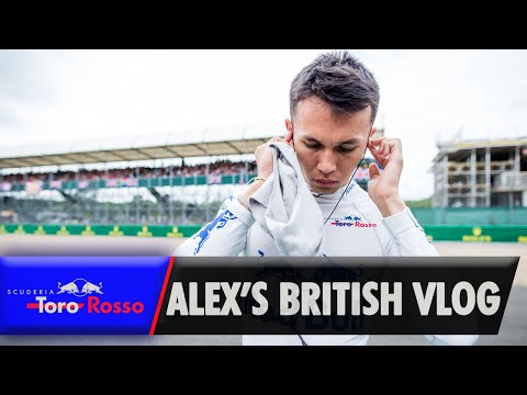 Alex Albon's British GP Vlog
