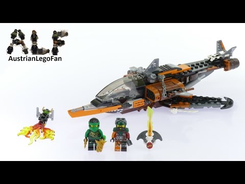 Vidéo LEGO Ninjago 70601 : Le requin du ciel