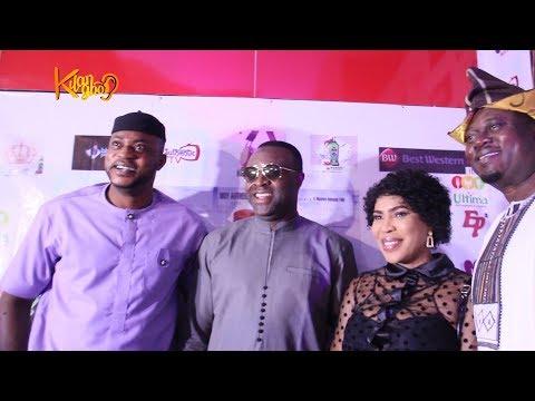 Kolawole Ajeyemi, Fathia, Odunlade, Femi, Others attends Muyiwa Ademola's Movie Premier GBARADA
