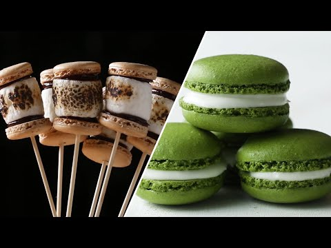 How to Make Macaron Recipes To Become A Macaron Master • Tasty