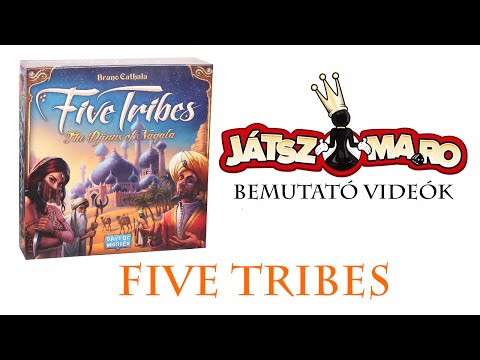 Five Tribes bemutató - Jatszma.ro