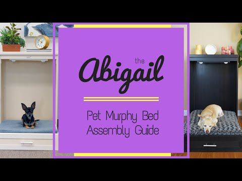 New Age Pet Murphy Style Bed with Memory Foam Cushion - Espresso Video