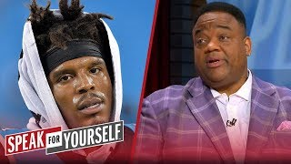 Jason Whitlock thinks Cam Newton has made his last start for the Panthers | NFL | SPEAK FOR YOURSELF