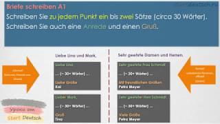 Start Deutsch 1 / A1 / Schreiben - Письма