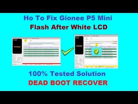 gionee p5 mini flash and flasher - смотреть онлайн на Hah Life