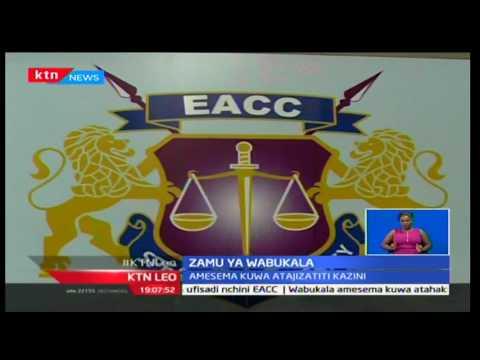 KTN Leo: Askofu Eliud Wabukala aapishwa kama kiongozi wa EACC na Jaji Mkuu David Maraga