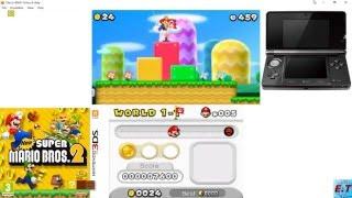 [3DS Emulator ]-Citra New Super Mario Bros 2