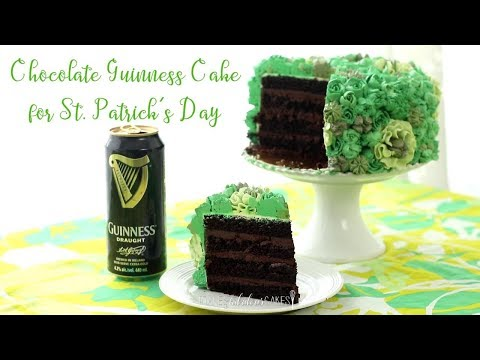 Chocolate Guinness Cake for Saint Patrick's Day