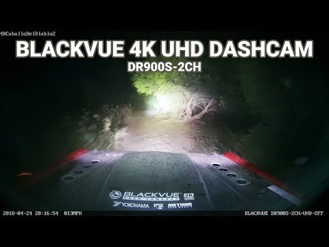 BLACKVUE DR900S-2CH SAMPLE NIGHT FOOTAGE (OFF-ROAD) #1