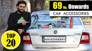 Top 20 Useful Car Accessories From 69 Rs. To 2599 Rs. @Ur IndianConsumer @UIC Vlogs