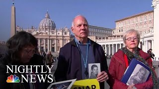 Survivors Make Their Voices Heard Ahead Of Vatican Summit On Sex Abuse   NBC Nightly News