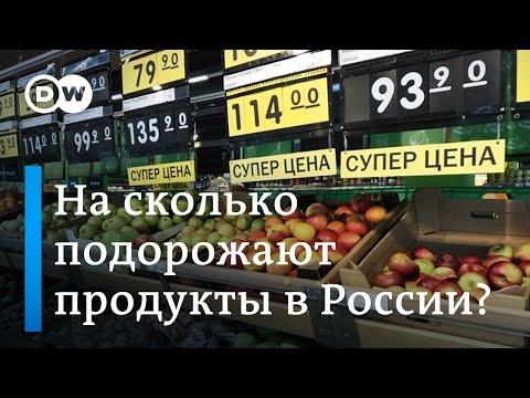 Россиян ждет подорожание продуктов