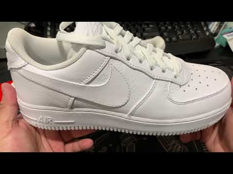 Nike Air Force 1 '07 Premium 2 Jelly Swoosh Review/UnBoxing