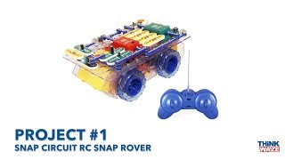 Snap Circuit RC Snap Rover - Project #1