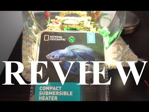 Review of the National Geographic 10w Aquarium Heater