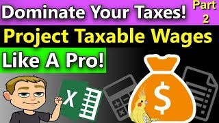 How To Project Taxable Income! 📈(Free 2018 Income Tax Planning Excel Worksheet)