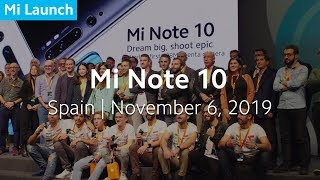 YouTube Video JB4atVzm3ws for Product Xiaomi Mi 10 Smartphone by Company Xiaomi in Industry Smartphones