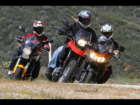 BMW G650GS vs Kawasaki Versys vs Suzuki V-Strom 650 ABS