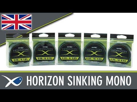 Fir monofilament Matrix Horizon X Sinking Mono 300m