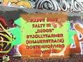 "HAPPY BDAY FALTY.. By ""DIGGS"" Jolly Farmer Gostenhof Nürnberg"